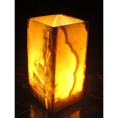 @Overstock - Light up your evening with a touch of the exotic from this exceptionally crafted  alabaster lamp. The handmade lamp was crafted in Egypt.http://www.overstock.com/Worldstock-Fair-Trade/Small-Rectangular-Alabaster-Lamp-Egypt/1983219/product.html?CID=214117 $91.99