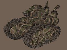 Light Tank by spacegoblin.deviantart.com on @DeviantArt