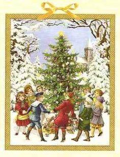 Calendar Advent  Christmas