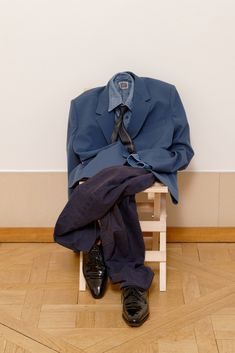 The personal dressing of Olivier Saillard presented at the Joyce Gallery