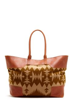 The Portland Collection By Pendleton Canyonville Leather Trim Tote on HauteLook