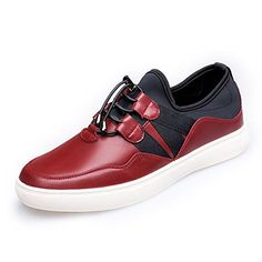 ESOSO Men's Casual Leather Sneakers - Brought to you by Avarsha.com