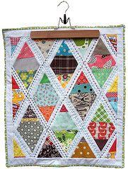 diamond lattice quilt