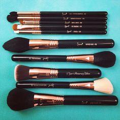 Holy grail brushes.  // #sigmabeauty #sigmabrushes Photo: joleneflute