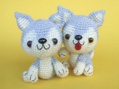 ***THIS IS A CROCHET PATTERN, NOT THE ACTUAL DOLLS**** Have you ever want to own a pet? But you dont have time and place for it. This is a best way to have your own puppy. The finished size of this doll is about 4 inches tall in sitting position and about 5 inches tall in two-leg