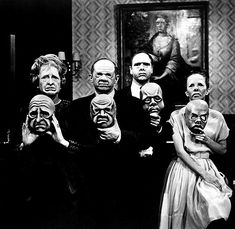"""""""The Masks"""" ( SS 5 Ep 025)  A dying patriarch insists that his would-be heirs wear most unusual masks."""