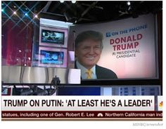 SOLENZO BLOG: Donald Trump left Joe Scarborough stunned after being asked about Vladimir Putin killing journalists