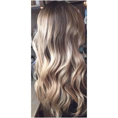 The New Natural 'Bronde' Hair Color ❤ liked on Polyvore featuring beauty products, haircare, hair color and hair