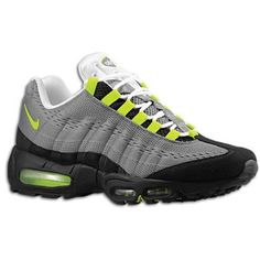 Nike Air Max 95 Dark GreyFlash Lime JD Sports Exclusive