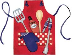 Grilling Apron Food Clipart, Grill Apron, Summer Clipart, Clip Art Pictures, Summer Barbecue, Pocket Letters, Backyard Bbq, Kitchen Art, Recipe Cards