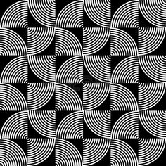 Black and White Psychedelic Circular Textile Patterns ? Stock Photo - Black and White Psychedelic Circular Textile Patterns ? Geometric Patterns, 60s Patterns, Geometric Art, White Patterns, Floral Patterns, Textile Pattern Design, Surface Pattern Design, Textile Patterns, Abstract Pattern