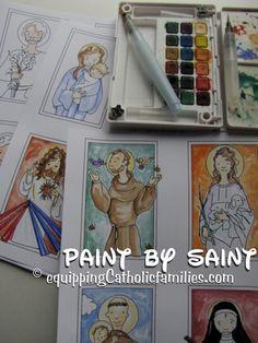 Paint by Saint