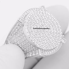 Nice Great 14K White Gold  Men Lab Diamonds Iced Out Hip Hop.925 Silver Wedding Ring Band  2017-2018 Check more at 24store.ml/...
