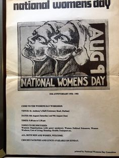 National Womens Day, Africa People, Political Prisoners, African History, 25th Anniversary, Black History, South Africa, Culture, Organisation
