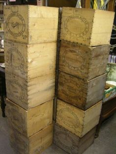 Canadian butter crates...wheels are turning!