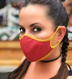 Stay home 7 Mouth Mask Fashion, Fashion Face Mask, Diy Mask, Diy Face Mask, Face Masks, Kpop Face Mask, Sewing Tutorials, Sewing Patterns, Frida Abba