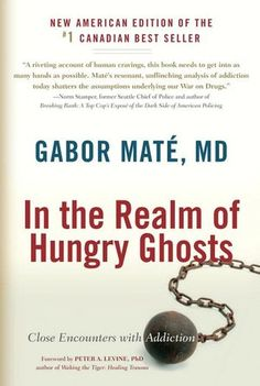 """In the Realm of Hungry Ghosts: Close Encounters with Addiction.  This book simply rocks! I loved it.  I'm taking  notes, re-reading entire sections, flagging paragraphs.  it's become my new """"neuro-addiction"""" bible!"""