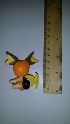 Custom hand painted with sculpted details Twozies baby Pokemon figures Raichu To see all the Pokemon crafts I have made or to place an order please visit my Facebook page https://m.facebook.com/sparklesandstring/