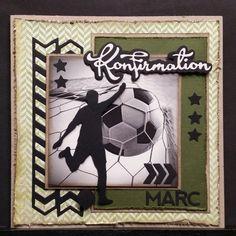 kortblogger: Lidt af hvert. Confirmation Cards, Man Birthday, Masculine Cards, Kids And Parenting, Diy And Crafts, Projects To Try, Frame, Men, Inspiration