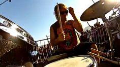 Drum Frame - Detonautas - Ela é Demais - Clip na Praia