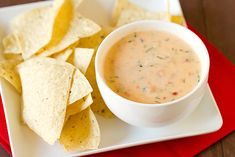 Chile con Queso from SCRATCH!  (Yay for not from a jar)