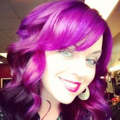 Purple!!i love my new hair