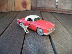 Vintage Mercedes Schuco Micro Racer No1044 by salvageandco on Etsy, $65.00