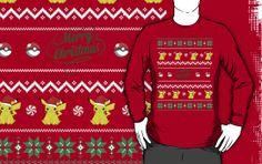 Christmas is near! Get this cute Pikachu design now!