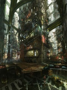 Awesome concept art level design
