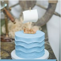 Ready to sail away into a dream? This beautifully Rustic Nautical-Themed 2nd Birthday Party will take you there!
