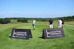 1st tee on our International Course for the Pink Tie Club Charity Golf Day www.pinktieclub.org.uk