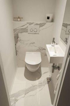 Minimalist Bathroom Furniture, Minimalist Bathroom Design, Modern Bathroom Decor, Modern Bathroom Design, Bathroom Interior Design, Modern Minimalist, Interior Modern, Modern Luxury, Small Toilet Room