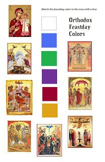 Orthodox Christian Education: Colors of Orthodoxy Sunday School Projects, Sunday School Teacher, Sunday School Lessons, School Ideas, The Good Shepherd, Orthodox Christianity, Religious Education, Orthodox Icons, Christian Faith