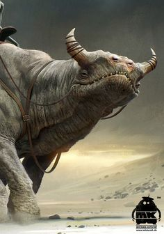 John Carter - Character Design and Concept Art by Michael Kutsche, via Behance
