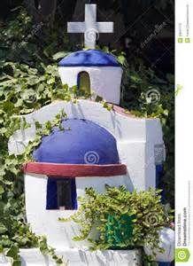 Stock Photos: Greek small shrine