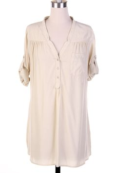 Neutral Casual Top - Love these!