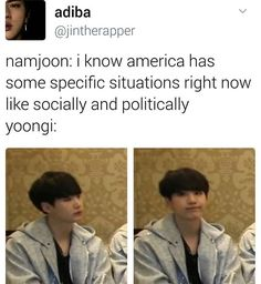 he nodded so he either understands or hes pretending but either way. he cute and namjoon's woke