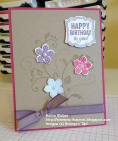 Stampin' Up! Petite Petals, Occasions Catalog #Petitepetals #stampinup #occasions2014