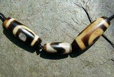 Ancient dZi beads. www.garudashop.com