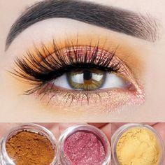 New Mineral Eyeshadow Trio Get This Look All Natural Vegan Eyeshadow... ($18) ❤ liked on Polyvore featuring beauty products, makeup, eye makeup, eyeshadow, bath & beauty, grey, paraben free eyeshadow, mineral eye makeup, blending brush eyeshadow and blender brush