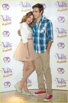 : Photo Martina Stoessel hits up the Violetta Concert Tour Photo Call held at the Emperador Hotel on June 2013 in Madrid, Spain. Violetta And Leon, Violetta Live, Disney Channel, Celebrity Gossip, Celebrity News, Violetta Outfits, Netflix Kids, Youtubers, Crafts With Pictures