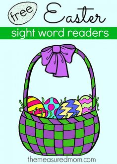 Free Easter Emergent Readers!