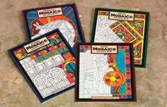 Mindware Multicultural Mosaics Coloring Books - Set of 4 by Mindware. $29.39. Inspired by early civilizations will awaken your imagination as you discover the intricate and intriguing designs celebrated by ancient cultures. Set of 4 includes Aboriginal Mosaics, Celtic Mosaics, Classic Mosaics and Aztec Mosaics. Each softcover book contains 23 patterns to color with crayons markers or colored pencils. All levels.. Save 25%!
