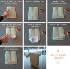 tuto sac papier