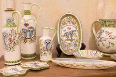 Hand-made ceramics by Artesia Ceramica.