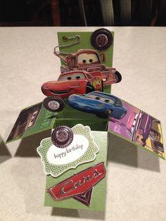 Cars Card in a Box