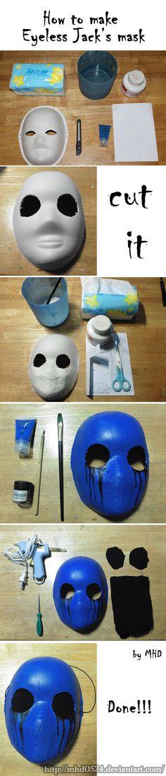 Eyeless Jack mask