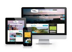 Positionnement, identité et site responsive Dombes & Saône by Agence Souple