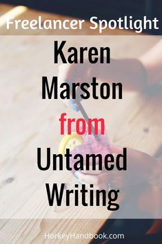 If you are interested in learning more about a freelancing career, today I conned Karen Marston​ into letting me interview her for Horkey HandBook​ today - don't worry it's a light and humorous read (but very valuable - check it out!).  Karen is sharing all of her freelance tips on how to have a successful career and make money!