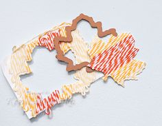 @The Twinery baker's twine and a die cut embellishment tutorial